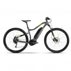 "Электровелосипед Haibike SDURO HardNine 1.0 400Wh 9 s. Altus 29"", рама L, серо-лаймово-черный, 2020 4540048050"