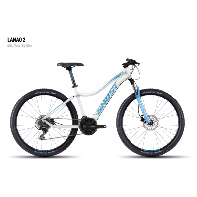 Велосипед GHOST Lanao 2 white/blue/lightblue L_2016, 16MS4532