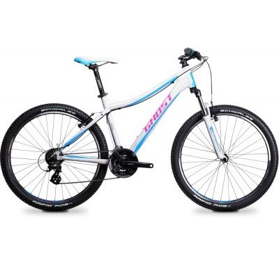 Велосипед GHOST MISS 1100 white/pink/blue, 14MS4591