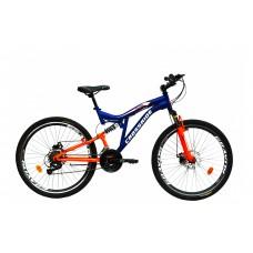 "Велосипед CROSSRIDE 26 MTB-susp. ST ""NITRO"", арт.02121"