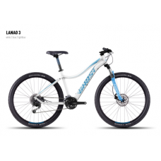 Велосипед GHOST Lanao 3 white/blue/lightblue, 16MS4545