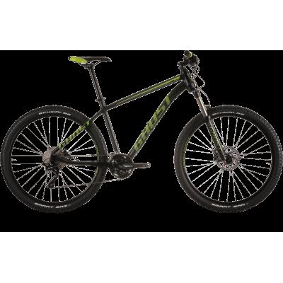 Велосипед GHOST Kato 5 black/limegreen/grey_XL_2015, 15SE3554