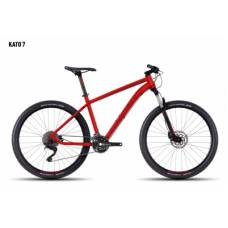 Велосипед GHOST Kato 7 red/darkred/black_L, 16KA3781