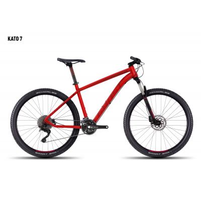 Велосипед GHOST Kato 7 red/darkred/black_L, 16KA3781