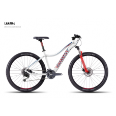 Велосипед GHOST Lanao 4 white/red/darkred/blue, 16MS4558