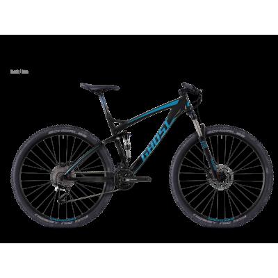 Велосипед GHOST AMR 2 black/blue_S 2016, 16AM1058