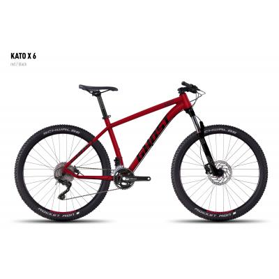 Велосипед GHOST Kato X 6 red/black, 16KA3802