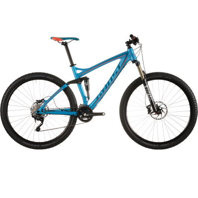 Велосипед GHOST AMR LT 3 cyan/darkblue/red M_2015, 15AM1111