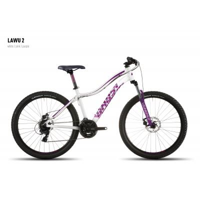 Велосипед GHOST Lawu 2 white/pink/purple, 16MS4512