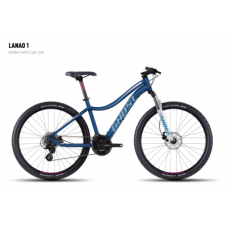 Велосипед GHOST Lanao 1 darkblue/white/cyan/pink, 16MS4526