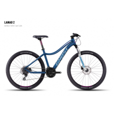 Велосипед GHOST Lanao 2 darkblue/white/cyan/pink, 16MS4539