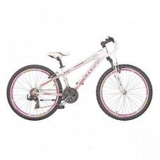 Велосипед 26 KROSS CROSS GRAVITA S 21 speed, 14 (2015) белый