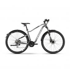 "Велосипед Haibike SEET HardSeven 3.5 Street 24 s. Acera 27.5"", рама M, серо-бело-черный, 2020 4100072945"
