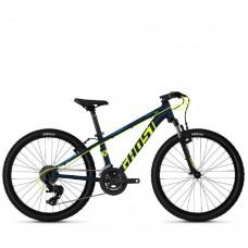 """Велосипед Ghost Kato 2.4 24"""", сине-желтый, 2020 65KA1130"""