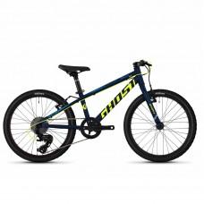 """Велосипед Ghost Kato R1.0 20"""", сине-желтый, 2020 65KA1118"""