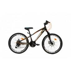 """Подростковый велосипед CROSSRIDE 24 MTB ST """"SPARK"""", арт.01631"""