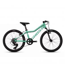 """Велосипед Ghost Lanao 2.0 20"""", KID, голубой-белый, 2020 65LA1079"""