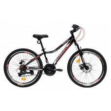 """Подростковый велосипед CROSSRIDE 24 MTB ST """"VOLTAIRE"""", арт.0226"""