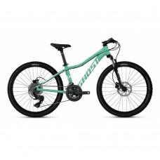 "Велосипед Ghost Lanao D4.4 24"", бирюзово-белый, 2020 65LA1091"