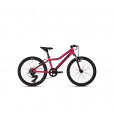 """Велосипед Ghost Lanao R1.0 20"""" , малиново черный, 2019 86LA6002"""