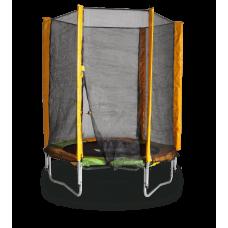 Батут KIDIGO 140 см. с защитной сеткой 61004
