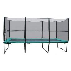 Прямоугольный батут KIDIGO 457х305 см. с защитной сеткой + лестница 61026