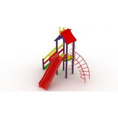 Игровой комплекс Kidigo Петушок с пластиковой горкой ДК 005.043