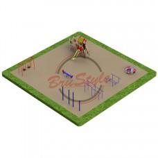 Детская игровая площадка PG11