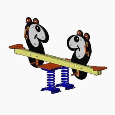 Балансир на пружинах панда Vadzaari 019
