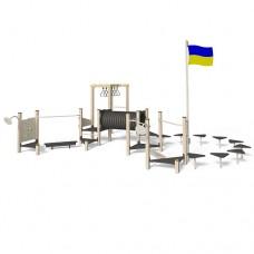 Игровой гимнастический комплекс InterAtletika LК150.2