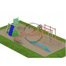 Детская игровая площадка BruStyle PG13