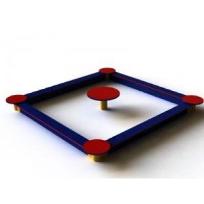 Песочница со столиком Kidigo ПЕ 014