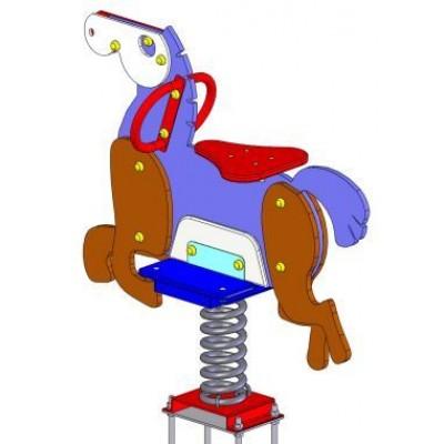 Балансир на пружинах лошадка Vadzaari 021