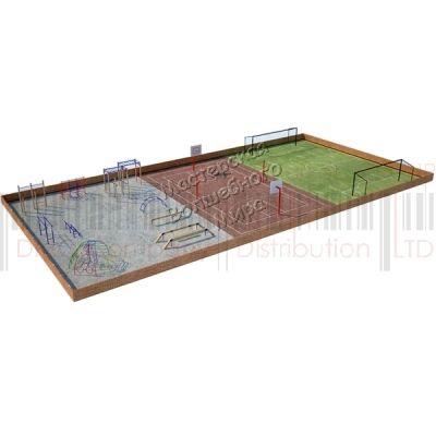 Детская игровая площадка Kidigo Проект 12, PIP-012