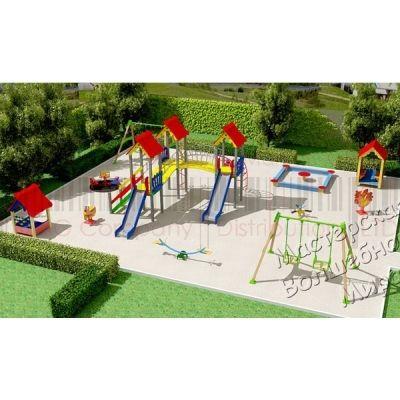 Детская игровая площадка Kidigo Проект 10, PIP-010