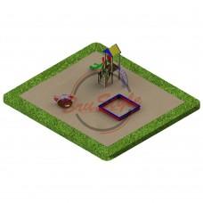 Детская игровая площадка PG18