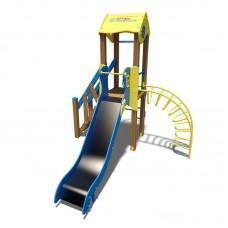 "Игровой комплекс InterAtletika желто-голубой ""Малыш- NEW"" T801 NEW YB"