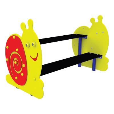 """Детская скамейка со столом """"Улитка"""" InterAtletika S744"""