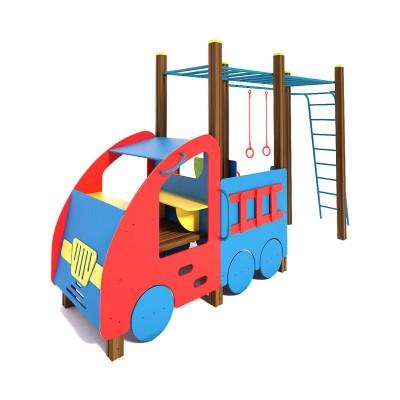 Машинка с гимнастическим комплексом InterAtletika TE506