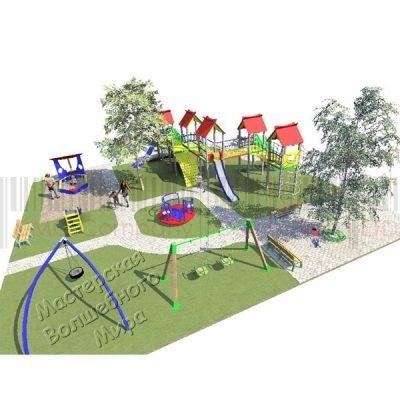 Детская игровая площадка Kidigo Проект 11, PIP-011