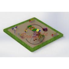 Детская игровая площадка PG22