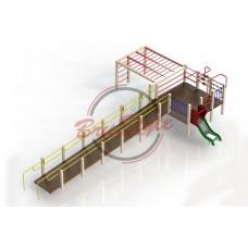 Игровой комплекс для детей с ОФВ BruStyle DIO791