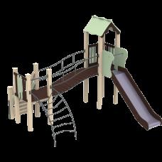 Детский комплекс Kidigo Месяц, высота горки 1,5 м<br /> 11384