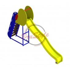 Детская горка-спуск пластиковая BruStyle DIO509