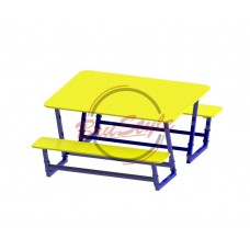 Столик со скамейками BruStyle DIO213