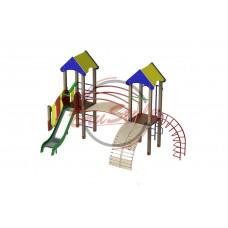 """Детский игровой комплекс """"Две башни"""" BruStyle DIO802"""