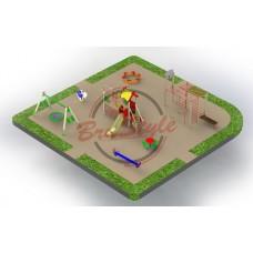 Детская игровая площадка BruStyle PG23