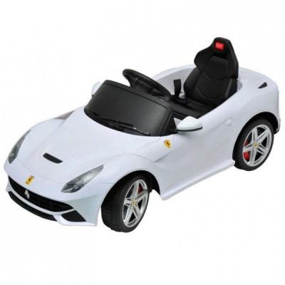 Электромобиль Rastar Ferrari F12 (белый)