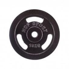 Диск металлический Hop-Sport 10 кг