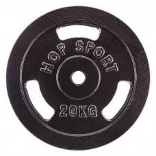Диск металлический Hop-Sport 20 кг